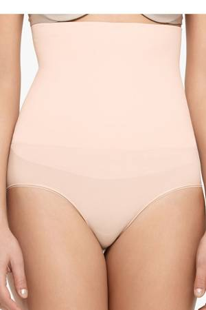 Yummie Tummie Cameo High Waist Shaping Brief (Naked) by Yummie Tummie