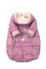 7 am Enfant Quilted Easy Cover (Large 3y-6y) (Lilac/Beige) by 7 A.M. Enfant