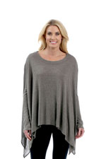 Majamas Coperta Poncho (Heather Mocha) by Majamas