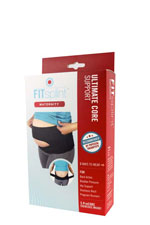Mombodfitness Maternity FITsplint™- Ultimate Maternity Support (Black) by Mombodfitness