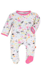 Magnificent Baby Girl Footie (Sweet Treats) by Magnificent Baby