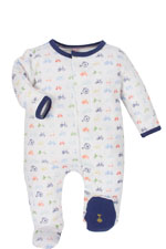 Magnificent Baby Boy Footie (Boys Bikes for Tykes) by Magnificent Baby
