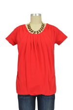 The Part of Me Nursing Top by Milky Way (Red) by Milky Way
