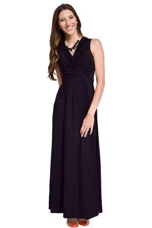 Sophie & Eve Charlotte Bamboo Maxi Maternity & Nursing Dress by Sophie & Eve