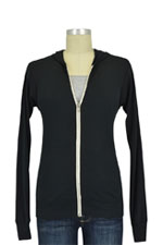 Bun Forever Relaxed Fit Nursing Hoodie (Black) by Bun Maternity & Nursing