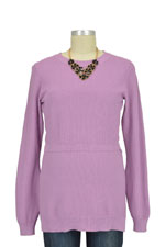 Boob Design Moss-Knitted Organic Nursing Sweater (Mauve) by Boob Design