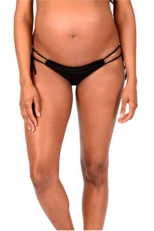 Marilyn Sexy Adjustable Bikini Bottoms (Black) by Bikini Mama's