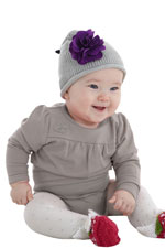 Adria Baby Bubble Oneesie (Taupe Grey) by MEV
