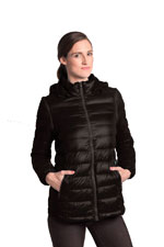 Vale 5-in-1 Lightweight Down Maternity Jacket (Black) by Modern Eternity