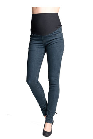 New Yorker Skinny Maternity Jean (Ink) by Ripe Maternity