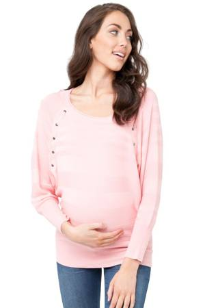 Anya Batwing Nursing Top (Chintz Pink) by Ripe Maternity