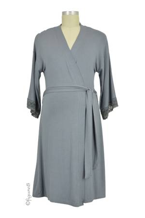 Belabumbum Belly Boudoir & Beyond Robe (Gunmetal) by Belabumbum