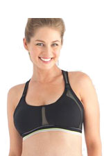 Belabumbum Ultra Smooth Nursing Sports Bra (Black) by Belabumbum