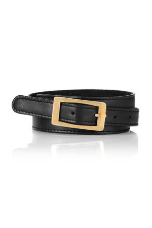 Seraphine Sparrow Adjustable Leather Belt (Black) by Seraphine