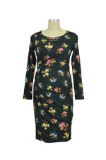 Seraphine Lexie Floral Nursing Dress (Black/Multi) by Seraphine
