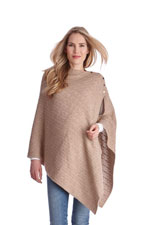 Seraphine Caleb Cable Knit Nursing Shawl (Camel) by Seraphine