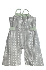 Dollie Baby Jumpsuit by Shirley & Victor (Steel Diamond) by Shirley and Victor, Baby by Majamas