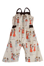 Dollie Baby Jumpsuit by Shirley & Victor (School Yard) by Shirley and Victor, Baby by Majamas