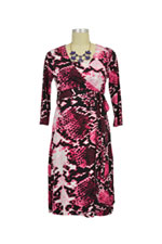 Sydney Wrap Nursing Dress (Pink Shades) by Annee Matthew