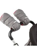 7 am Enfant WarMMuffs (Heather Grey/Red Fleece) by 7 A.M. Enfant