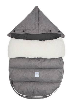 7 am Enfant LambPOD- Medium/ Large (Heather Grey/Grey Fleece) by 7 A.M. Enfant