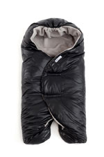 7 AM Enfant Nido Quilted Car-seat Baby Wrap - Large (Black) by 7 A.M. Enfant