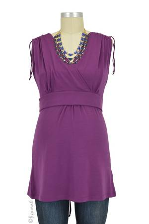 Boob Design Bianca Nursing Top (Plum) by Boob Design