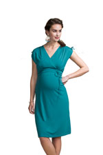 Boob Design Bianca Nursing Dress (Green Pool) by Boob Design