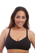 Nourish Nursing & Handsfree Pump Bra by BeliBea (Black) by BeliBea