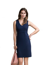 Boob Design Audrey Sleeveless Nursing Dress (Navy) by Boob Design