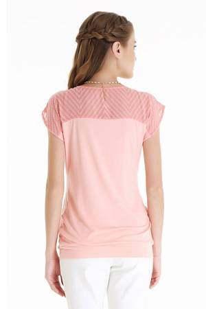 Claire Nursing Top by Spring Maternity (Coral Pink) by Spring Maternity