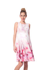 Seraphine Johana Maternity Dress (Pink Floral Print) by Seraphine