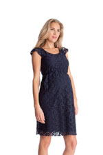 Seraphine Sloane Lace Maternity Dress (Navy) by Seraphine