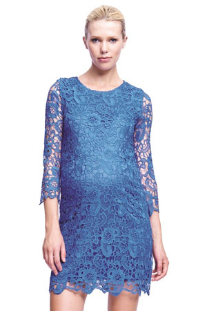 Diana Crochet Maternity Dress by urbanMA
