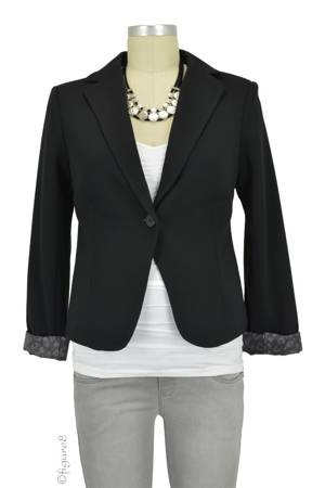 Alexa Maternity Blazer (Black) by Noppies