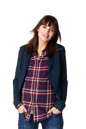 Alexa Maternity Blazer (Dark Blue) by Noppies