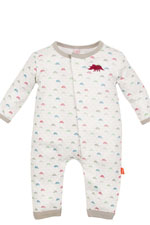 Magnificent Baby Boy's Union Suit (Dino Bones Print) by Magnificent Baby