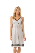 Majamas Madison Nursing Nightie (Oyster) by Majamas