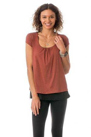 Majamas Orchard Nursing Top (Picante) by Majamas