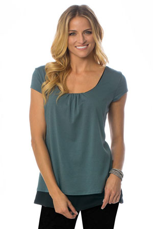 666859a220bb5 The Orchard Maternity & Nursing Top by Majamas in Popsicle