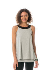 Majamas Oakley Nursing Tank (Pebble) by Majamas