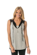 Majamas Bell Nursing Top (Pebble) by Majamas