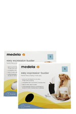 Medela Easy Expressions Bustier- 2-Pack (Black & White) by Medela