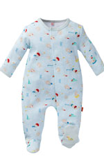 Magnificent Baby Boy's Footie (Swim Club Print) by Magnificent Baby