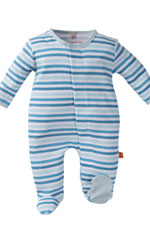 Magnificent Baby Boy's Footie (Stripes) by Magnificent Baby