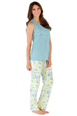 Angeline 2-pc Nursing PJ Set by Sophie & Eve