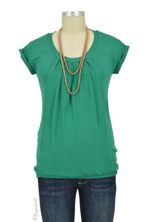 Manon Nursing Top (Green) by Pomkin
