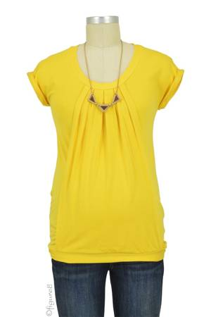 Manon Nursing Top (Yellow) by Pomkin