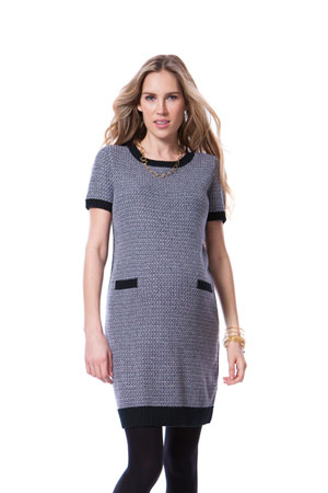 Seraphine Adriana Knitted Maternity Sweater Dress (Multi) by Seraphine