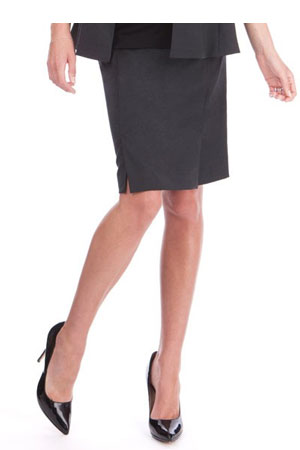 Seraphine Carol Wool Career Maternity Skirt (Charcoal) by Seraphine